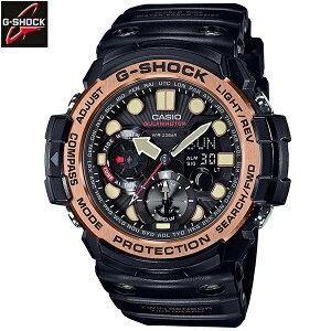 カシオ[CASIO]ジーショック[G-SHOCK]MASTEROFGヴィンテージブラック&ゴールド[MilitaryBlack]GN-1000RG-1AJF/メンズ/ラバーベルト【腕時計時計】10P03Dec16