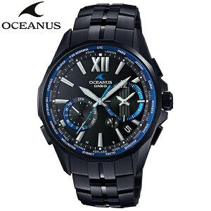 オシアナス<3年正規保障>カシオ[CASIO]オシアナス[OCEANUS]/GPSハイブリット電波ソーラー/OCW-S3400B-1AJF/メンズ/メタルバンド【腕時計時計】