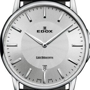 エドックスショッピングローン無金利対象品エドックス[EDOX]レ・ベモンデイト[LesBémontsDate]56001-3-AINメンズ【腕時計時計】
