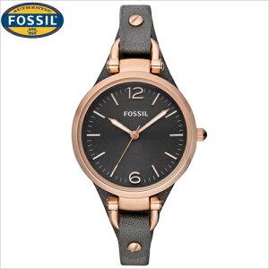 フォッシル[FOSSIL]/ジョージア[GEORGIA]/ES3077/レディース/レザーバンド【腕時計時計】