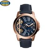 フォッシル[FOSSIL] グラント メカニカル[GRANT MECHANICAL]ME1162 メンズレザーバンド【腕時計 時計】【ギフト プレゼント】