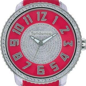テンデンスショッピングローン無金利対象品テンデンス[TENDENCE]グラム[Glam]TY430144レッドレザーバンドレディース【腕時計時計】