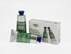 INSTITUT 乳油木 institeewtkalite 旅行工具組關心洗髮水及護髮素設置 30 g x 2