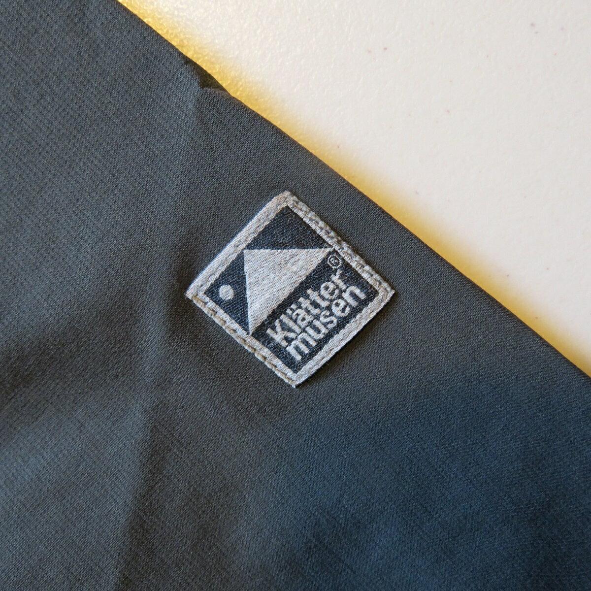 KLATTERMUSEN(クレッタルムーセン) Vanadis Jacketヴァナディスジャケット M's DARKGREY Lサイズ