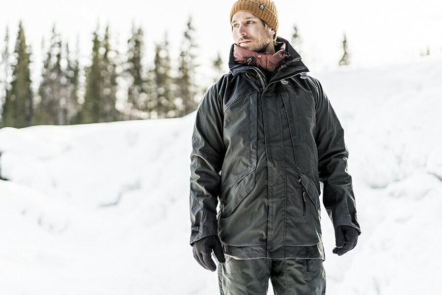 KLATTERMUSEN(クレッタルムーセン) Rimfaxe Jacket M's StormBlue Mサイズ water-proof