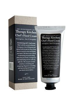アロマセラピーカンパニー セラピーキッチン Natural Chef`s Hand Cream75ml レモングラス、ライム&ベルガモット The Aromatherapy Company Therapy Kitchen