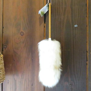 MiWoollies羊毛ダスターL50センチ