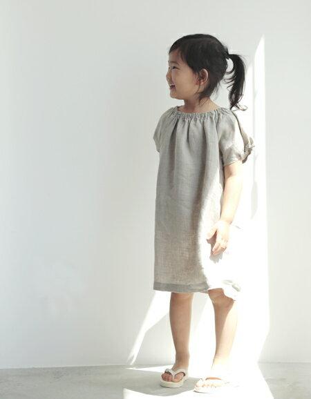 fog linen work カリン ドレス ナチュラル 【フォグリネン】【送料無料】