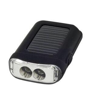 RubyTecBURU/LEDlightソーラー充電LEDフラッシュライト【ポイント5倍】