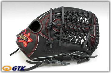 送料無料 久保田スラッガー少年野球軟式グローブ KSN-J4 ブラック ジュニア用では大き目サイズモデル 内野向けのオールラウンドモデル J号球対応 学童 子供用 プレゼント 野球用品 GTK