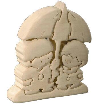 【送料無料】 お買い得商品 ドルフィ イタリア製 木製パズル 「アイアイ傘」 | 無垢材 3Dパズル 着色料未使用 ラッピング無料 ハンドメイド 手作り プレゼント ギフト 出産祝い 誕生日プレゼント 玩具 お子様 知育玩具 クリスマス クリスマスプレゼント