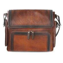 【プラテシ】イタリア製/本革/バッグショルダーバッグ品番:pr-b121-brown【送料無料】