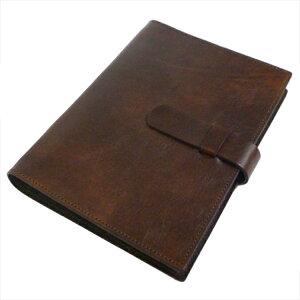 【OFFICINALIBRIS】イタリア高級本革製システム手帳カバー(リフィル別売)【Antiqua】a5サイズ