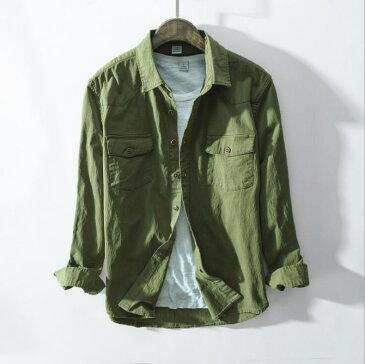 人気新品!ヴィンテージ お洒落 ウエスタンシャツ メンズ シャツカジュアル 長袖綿シャツ 細身コットンシャツ 着こなし