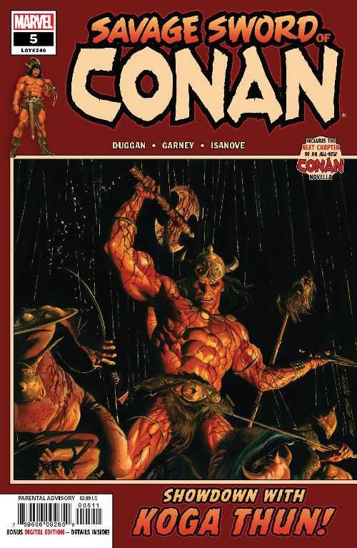 コミック, その他 SAVAGE SWORD OF CONAN 5