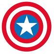 マーベル ポップアイコン/ラバーコースター キャプテン・アメリカ