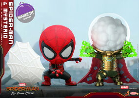 コスベイビーサイズS/スパイダーマン:ファー・フロム・ホーム/スパイダーマン(ウェブ・シューティング版)&ミステリオ<2体セット>