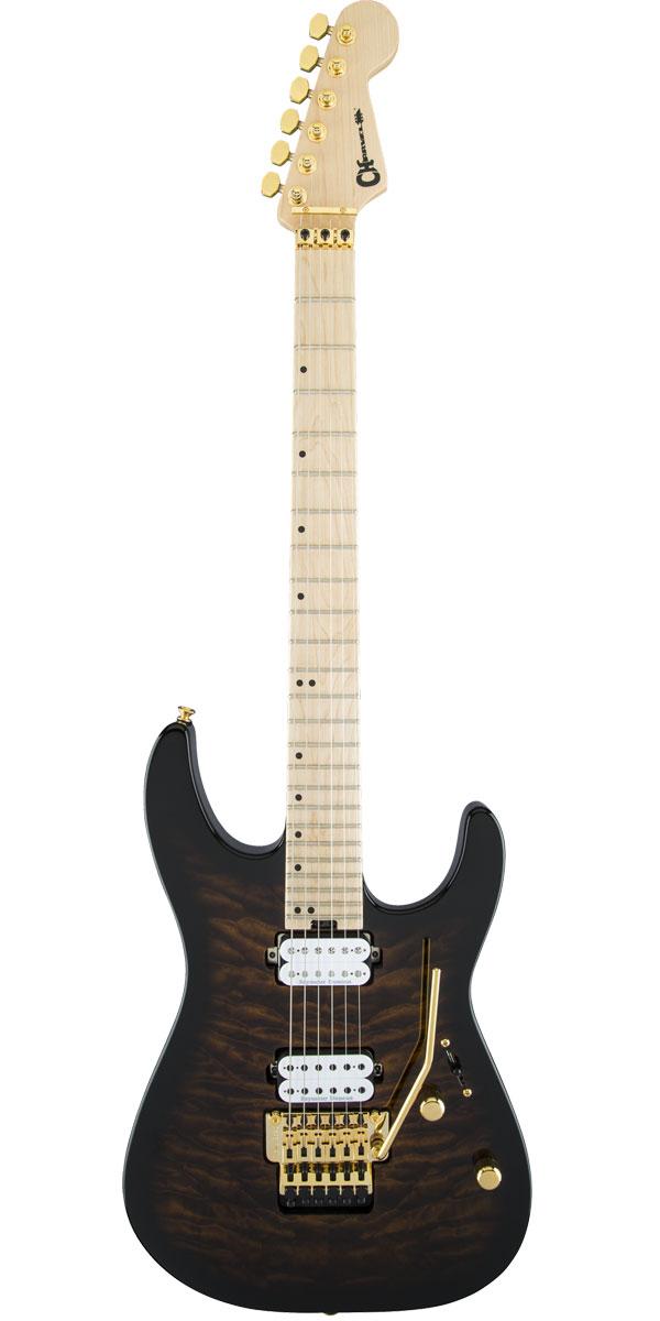 ギター, エレキギター CharvelPro-Mod DK24 HH FR M QM Root Beer Burst