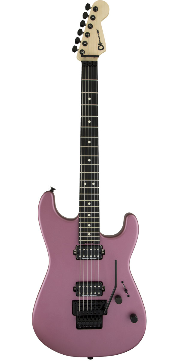 ギター, エレキギター CharvelPro-Mod San Dimas Style 1 HH FR E Satin Burgundy Mist