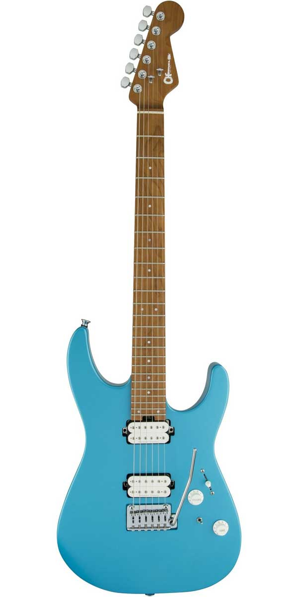 ギター, エレキギター CharvelPro-Mod DK24 HH 2PT CM Matte Blue Frost