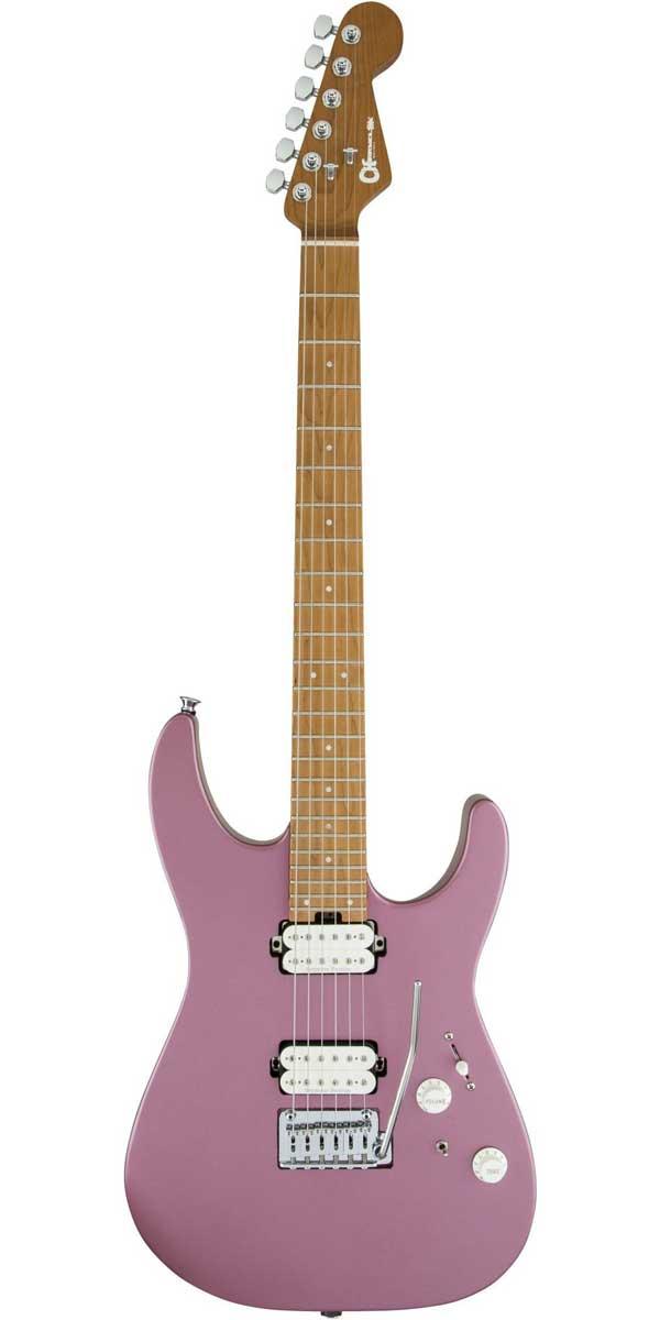 ギター, エレキギター CharvelPro-Mod DK24 HH 2PT CM Satin Burgundy Mist