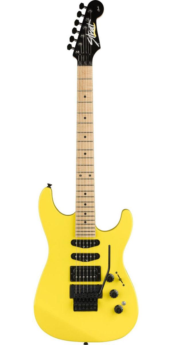 ギター, エレキギター FenderLimited Edition HM Stratocaster Frozen Yellow