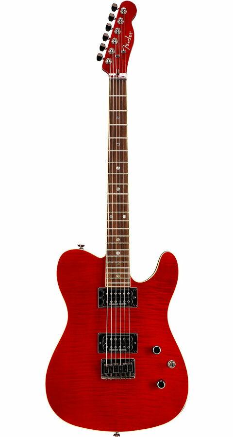 ギター, エレキギター FenderSpecial Edition Custom Telecaster FMT HH Crimson Red Transparent
