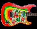 Fender Custom Shop Limited Edition George Harrison Rocky Stratocaster Sonic Blue with Custom Rocky Graphics
