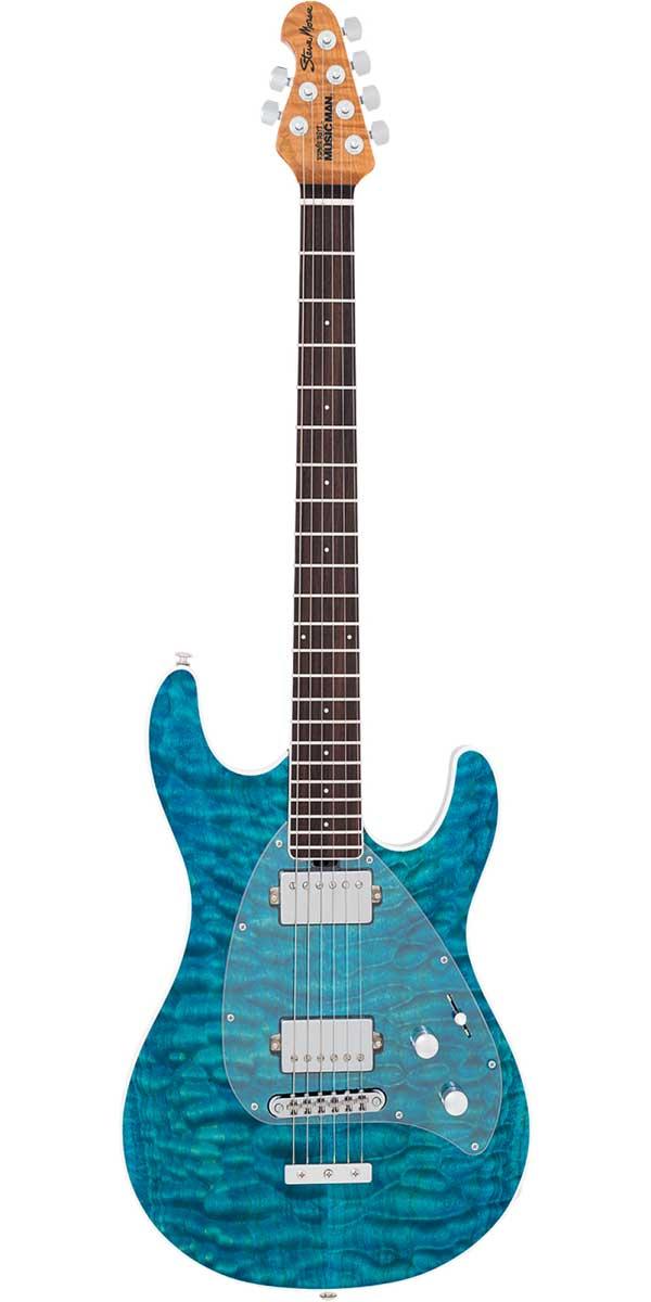 ギター, エレキギター MUSICMAN2017 Limited Edition BFR Steve Morse Tahitian Blue