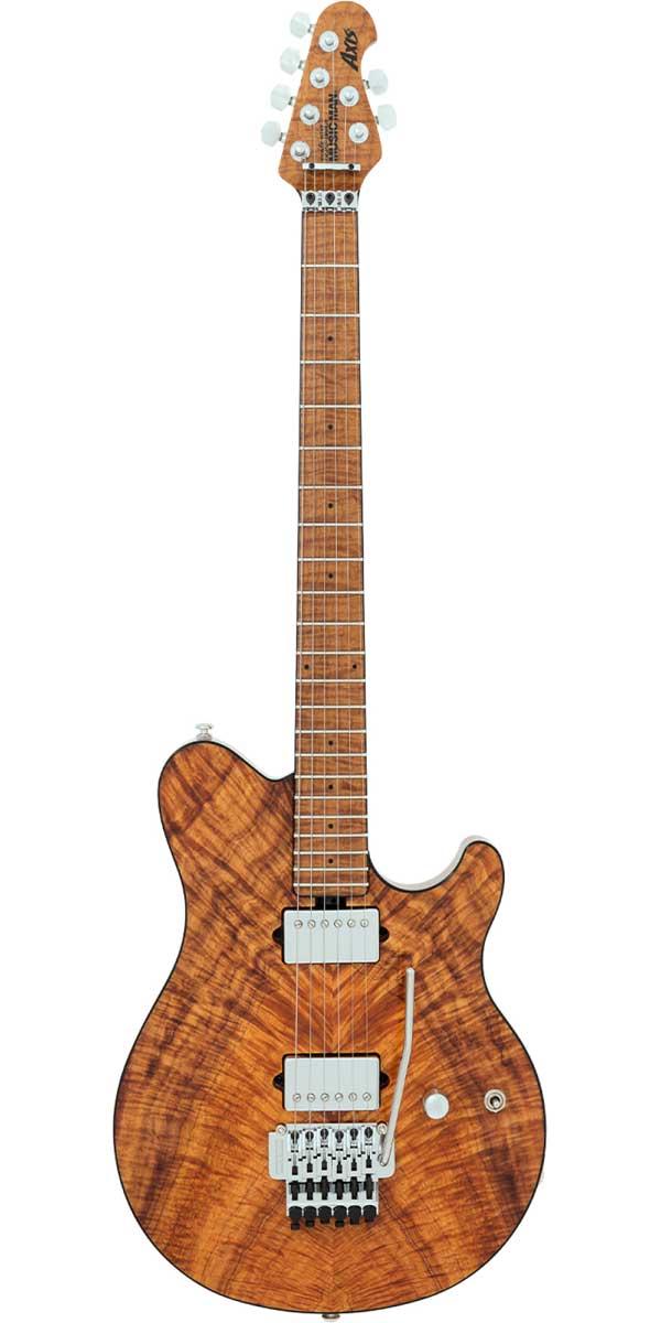 ギター, エレキギター MUSICMAN2017 Limited Edition BFR Axis Natural Koa