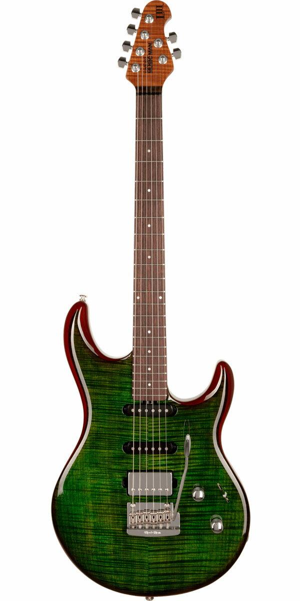 ギター, エレキギター MUSICMANLuke III Maple Top HSS Luscious Green Flame