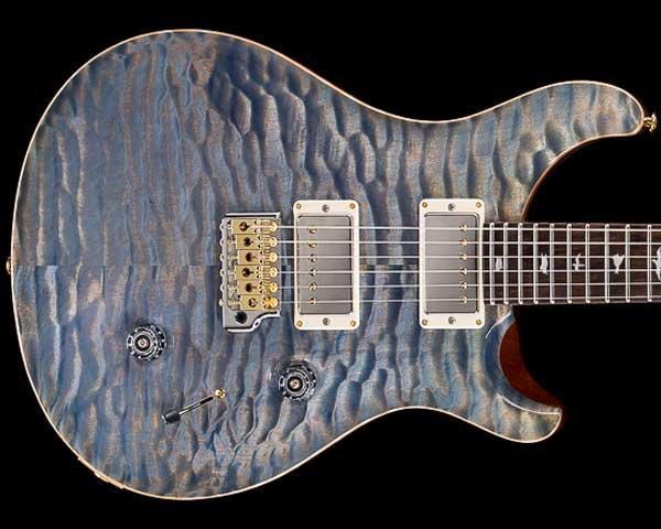 ギター, エレキギター PRSPaul Reed SmithPrivate Stock Custom 24 Triple Faded Indigo 2019