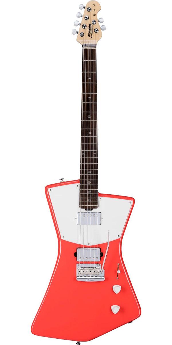 ギター, エレキギター Sterling by MUSICMAN St. Vincent Signature Model STV60HH Fiesta Red
