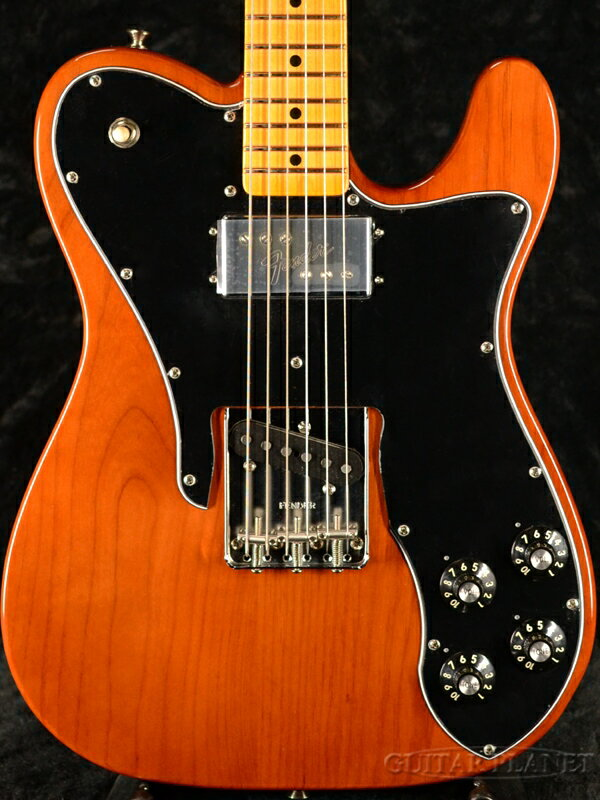 ギター, エレキギター Fender USA American Original 70s Telecaster Custom -Mocha- Natural,Brown,,,Electric Guitar,