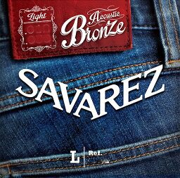 SAVAREZ Bronze Medium A130M 13-55[サバレス][ブロンズ弦][ミディアム][アコースティックギター弦,String]