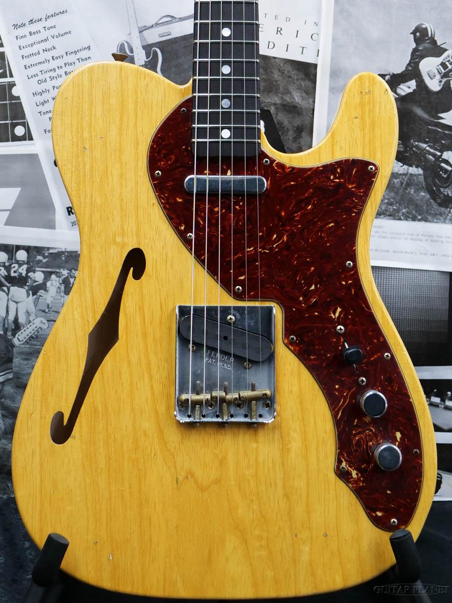 ギター, エレキギター Fender Custom Shop 2020 Custom Collection LIMITED EDITION 1960s Telecaster Thinline Journeyman Relic -Aged Natural- Electric Guitar,