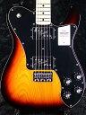 【NEW MODEL】Fender Made in Japan Traditional 70s Telecaster Deluxe -3-Color Sunburst- 新品 [フェンダージャパン][トラディショナル][サンバースト][テレキャスター][Electric Guitar,エレキギター]・・・