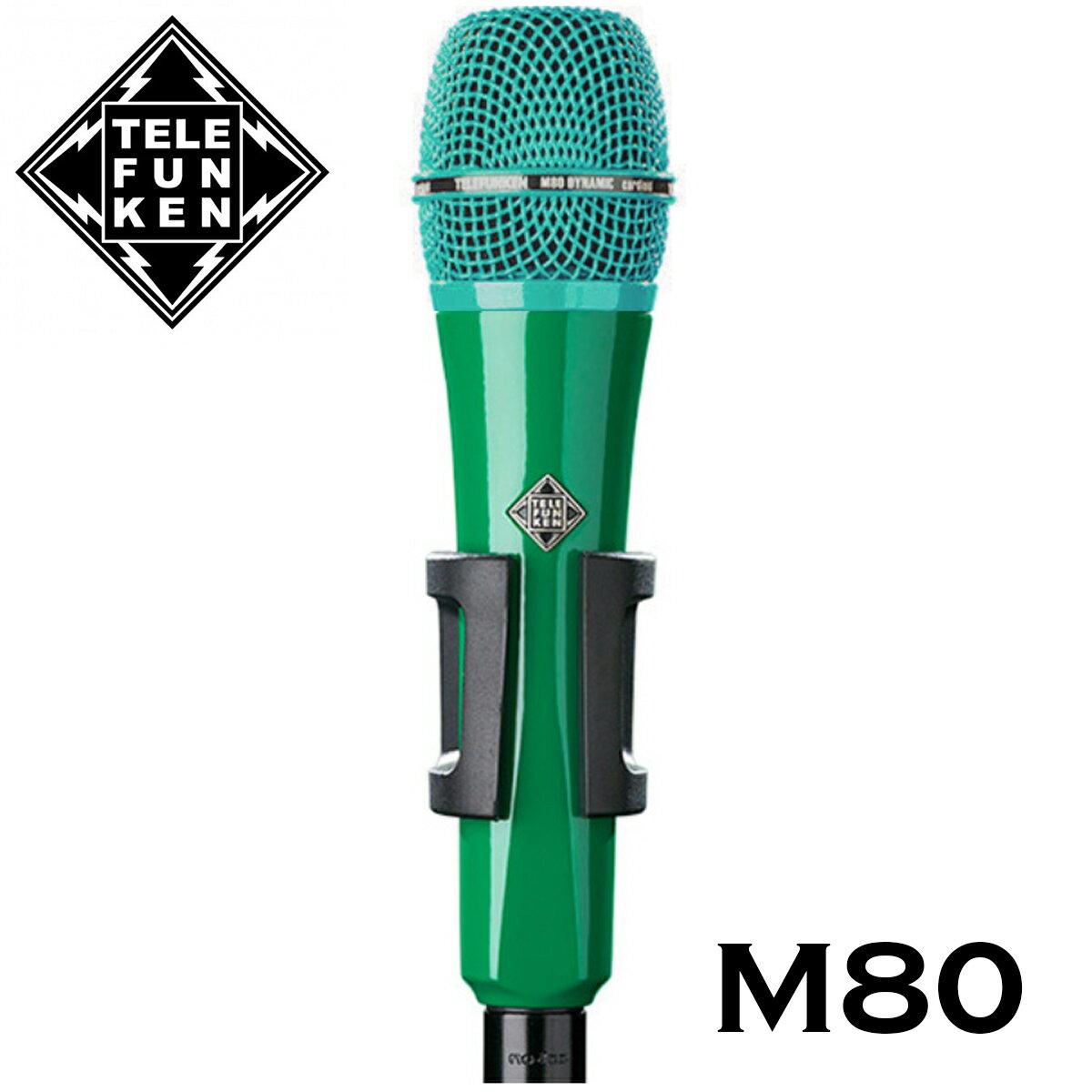 DAW・DTM・レコーダー, その他 TELEFUNKEN Dynamic Series M80 Dynamic Mic,Microphones,