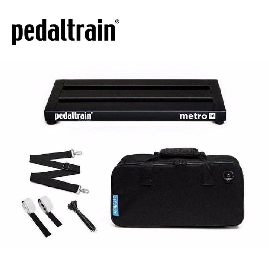 アクセサリー・パーツ, エフェクターケース Pedaltrain PT-M16-SC Metro Effector Board,Effector Case,