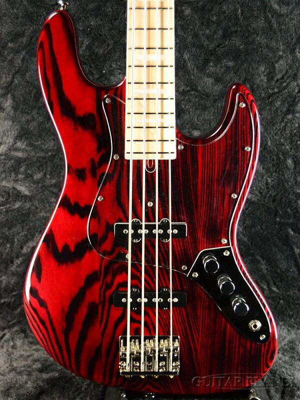 ベース, エレキベース Bacchus WL4DX-ASH Burner STR-BN-MH CRAFT Series,Red,,4strings,4Jazz Bass,Electric Bass,