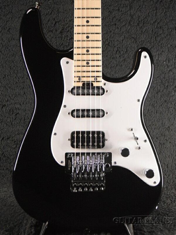 ギター, エレキギター Charvel MJ SO-CAL STYLE 1 HSS FR M Gloss Black Floydrose,,Stratocaster,Elec tric Guitar,