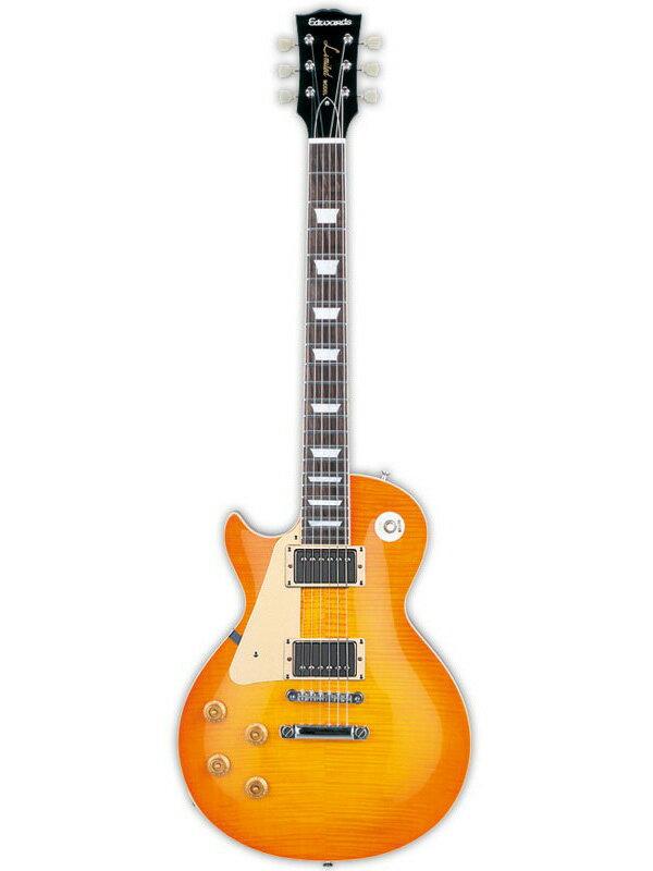 ギター, エレキギター 3-4Edwards E-LP-125SD Left Hand ESPLes Paul,Vintage Honey Burst,Electric Guitar,