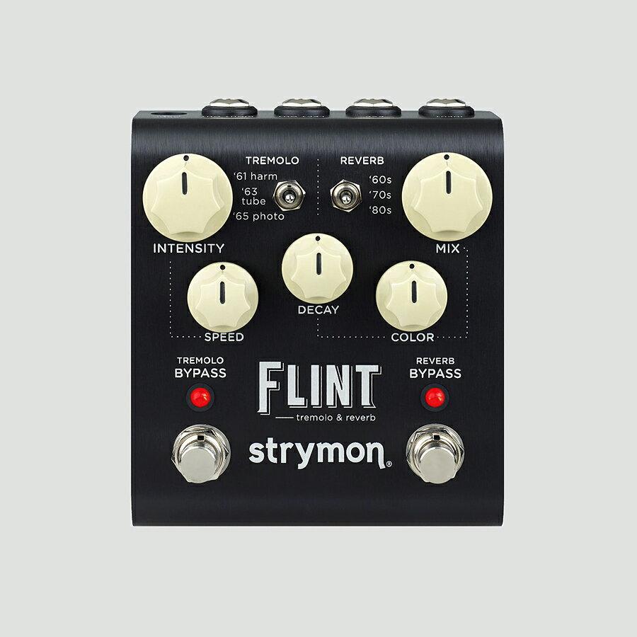 ギター用アクセサリー・パーツ, エフェクター strymon FLINT Tremolo,ReverbEffector,