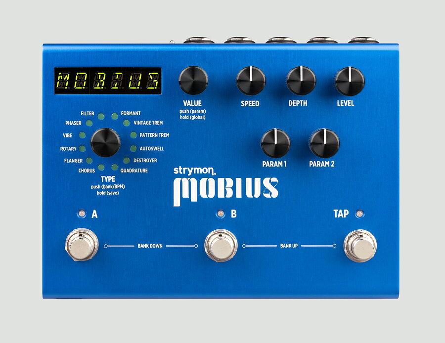 ギター用アクセサリー・パーツ, エフェクター strymon MOBIUS ModulationEffector,
