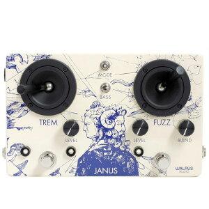 WALRUS AUDIO JANUS 新品 ファズ/トレモロ[ウォルラスオーディオ][ジャニス][Fuzz,Tremolo][Effector,エフェクター]