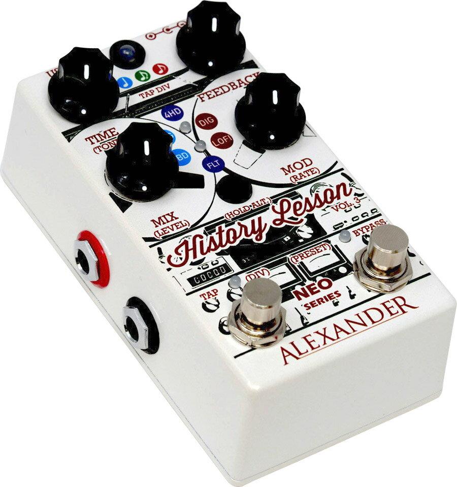 ギター用アクセサリー・パーツ, エフェクター Alexander Pedals History Lesson Volume 3 Echo,DelayEffector,