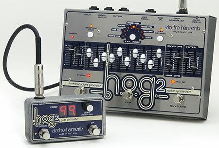ベース用アクセサリー・パーツ, エフェクター electro-harmonix H.O.G.2 HOG2Guitar SynthesizerEffector,