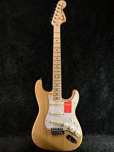 Fender Made In Japan Traditional 70s Stratocaster ASH Natural 新品 《レビューを書いて特典プレゼント!!》[フェンダージャパン][トラディショナル][ナチュラル][ストラトキャスター][Electric Guitar,エレキギタ