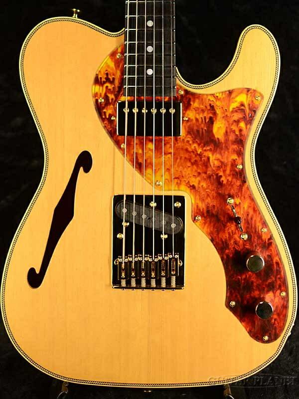 ギター, エレキギター FREEDOM Order Style Brown Pepper -VYNRose- Telecaster Thinline,Electric Guitar,