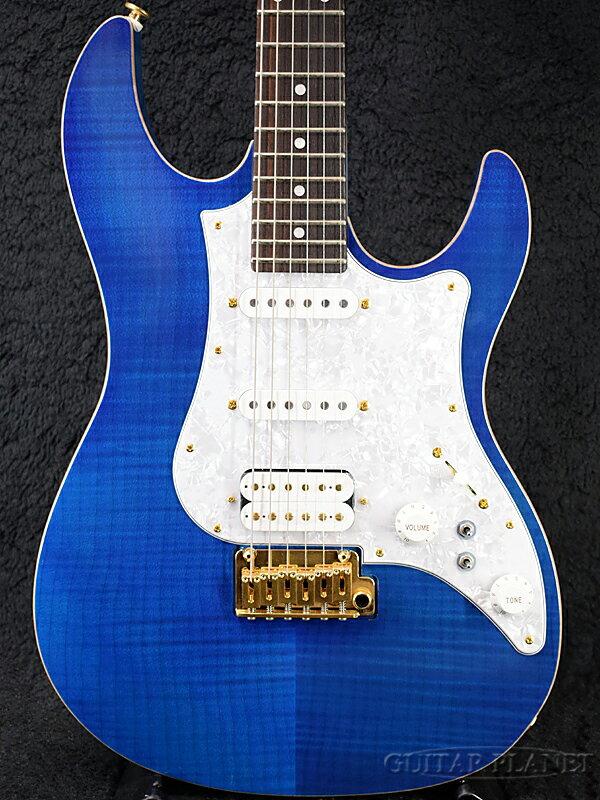 ギター, エレキギター FUJIGEN EOS-FM-R EBQ ,,FgNBlue,,Stratocaster,Elec tric Guitar,